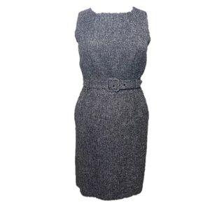 NWT Banana Republic Sheath Dress - Gray - 12